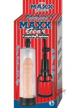Maxx Gear Powerful Vacuum Penis Pump Clear