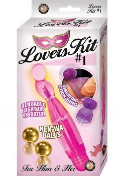 Lovers Kit 1 For Him And Her Vibrator Vibrating Cock Ring BenWa Balls Waterproof Pink Purple Gold