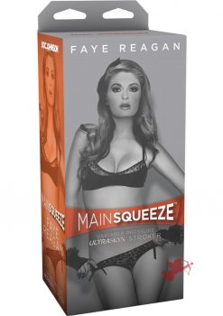 Main Squeeze Faye Reagan UltraSkyn Stroker Black/Flesh