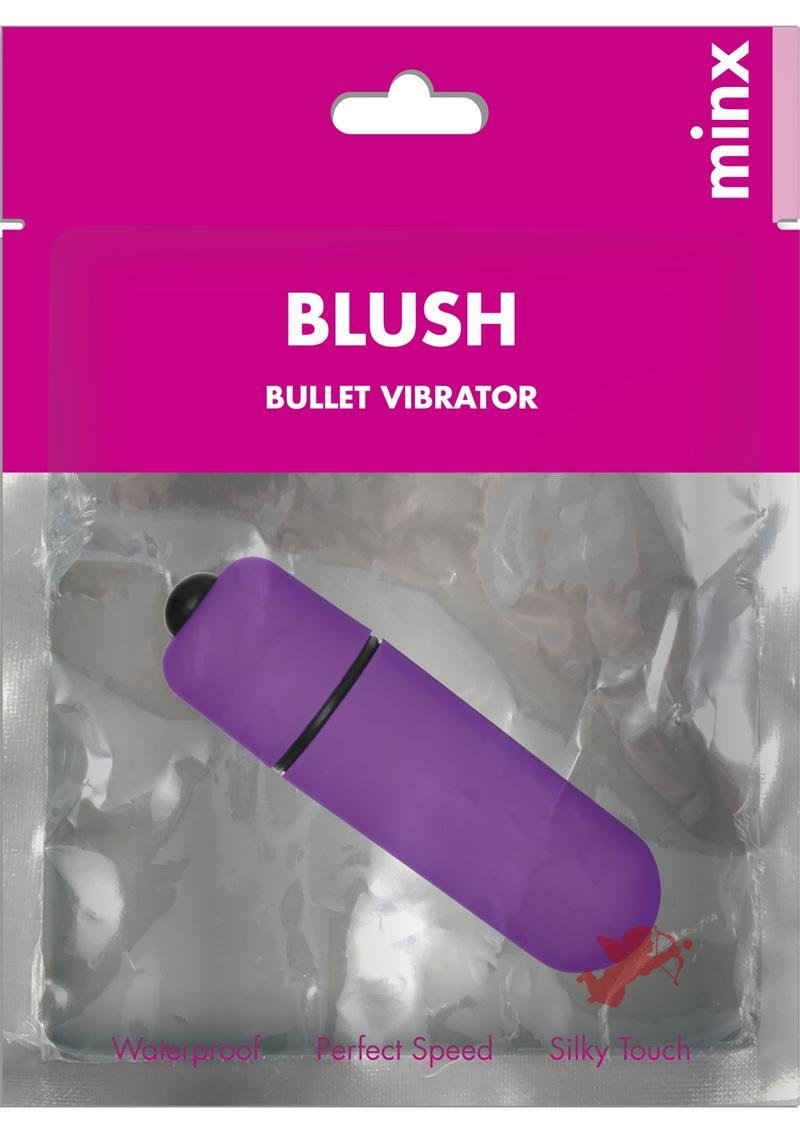 Minx Blush Single Speed Mini Bullet Vibe