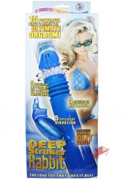 Deep Stroker Rabbit - Blue