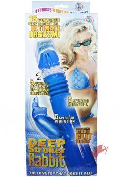 Deep Stroker Rabbit - Blue