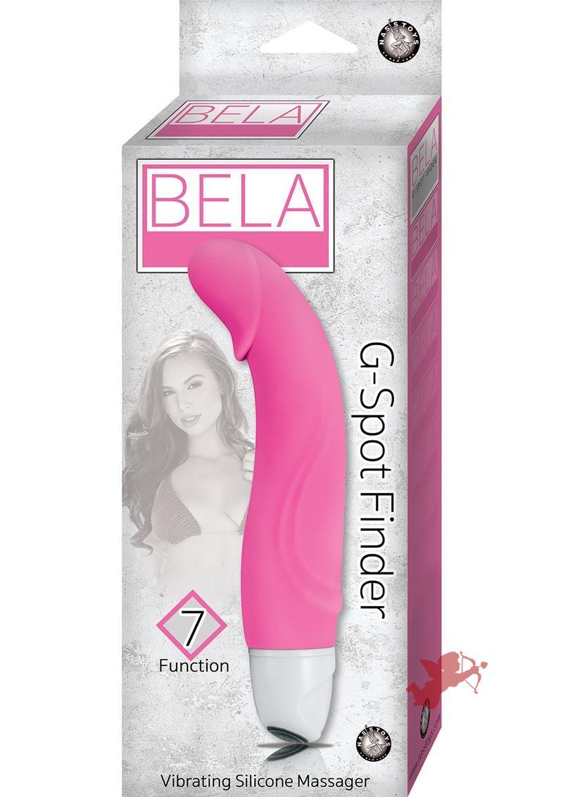 Bela G-Spot Finder 7X Vibrating Silicone Massager Waterproof Pink