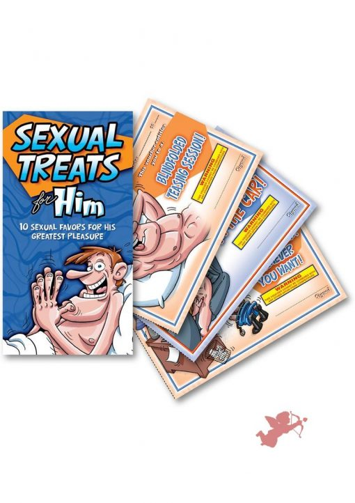 Sexual Treats For Him Vouchers 10 Each Per Pad