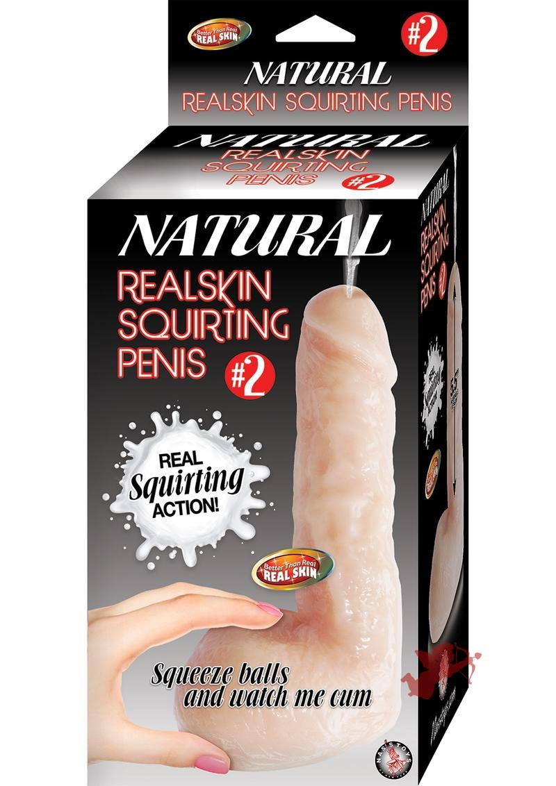 Natural Realskin Squirting Penis 02
