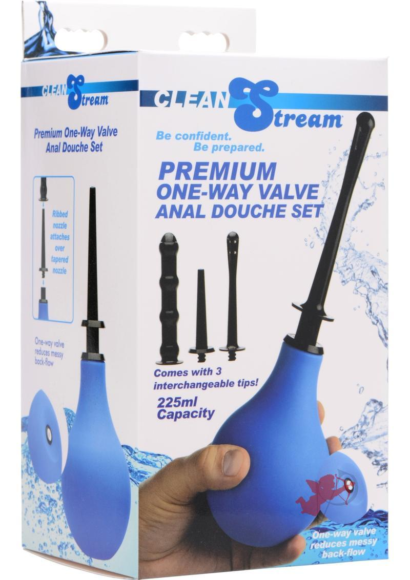 Clean Stream One Way Anal Douche Set