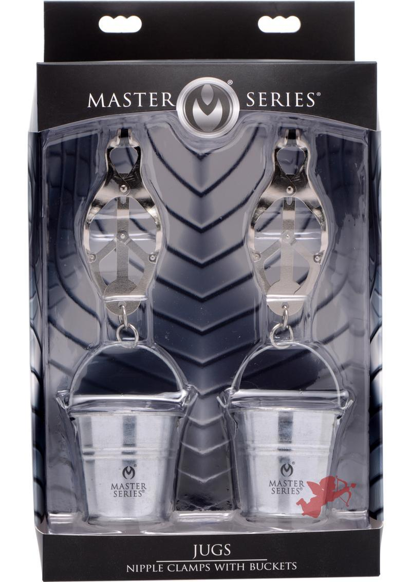 Master Series Jugs Nipple Clamps With Buckets