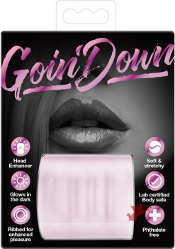 Goin Down Glow In The Dark Blowjob Stroker Pink