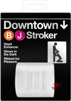 Downtown Glow In The Dark Blowjob Stroker Clear