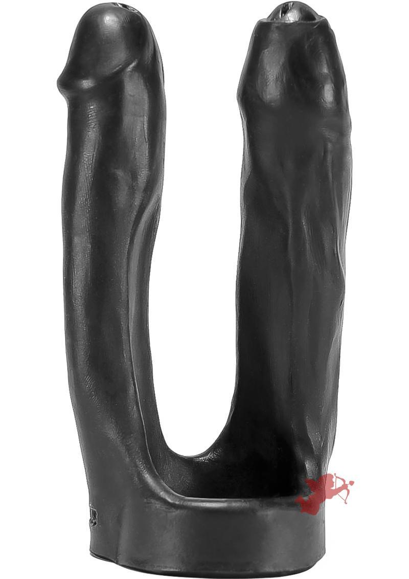3 Way Double Penetrator Black