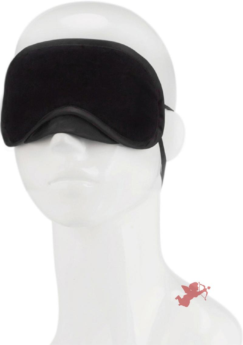 Lux F Peek A Boo Love Mask Black