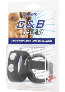 C & B Gear Duo Snap Cock and Ball Ring