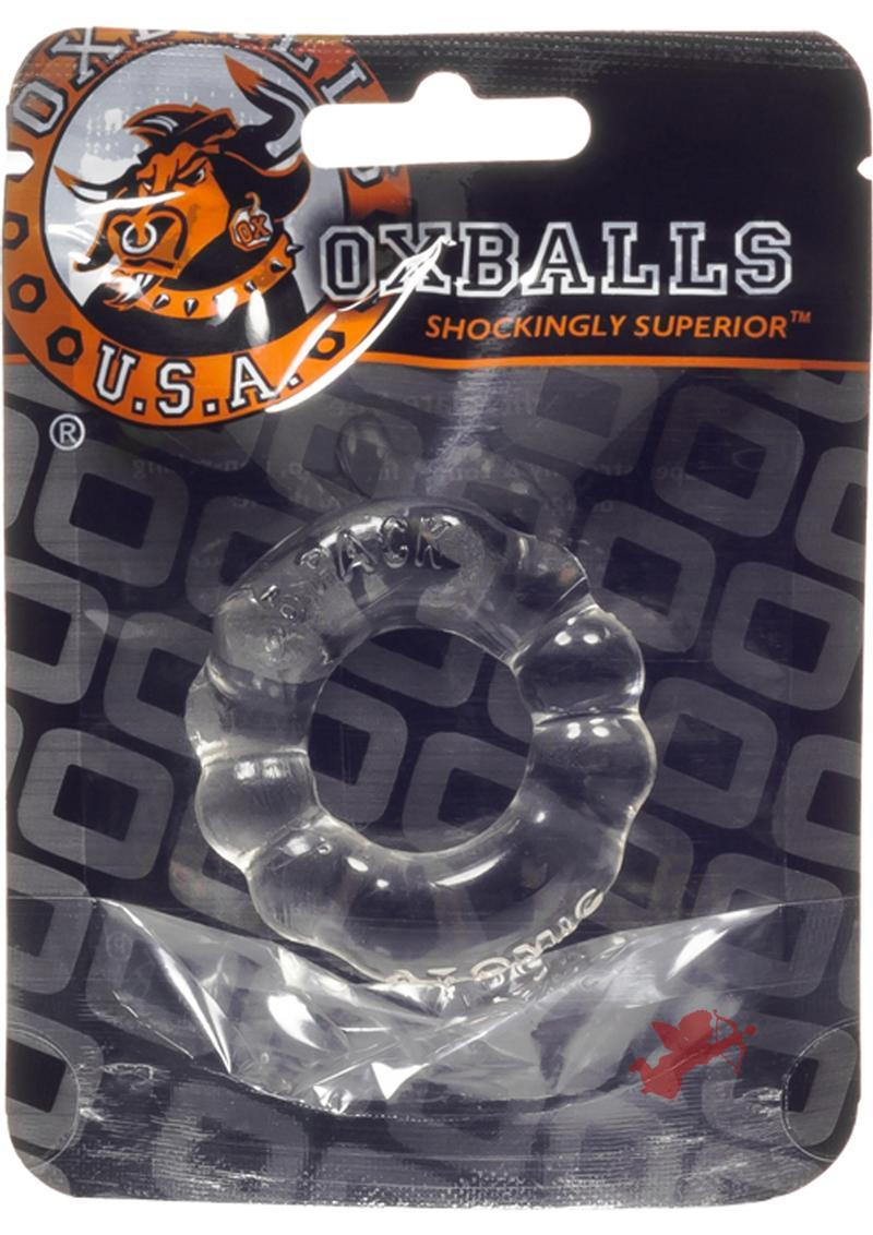 6 Pack Cockring Clear