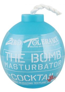 The Bomb Cocktail Masturbator Blue