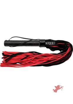 Rouge Suede Flogger Black & Red