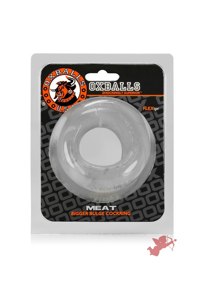 Meat Padded Cockring - Clear