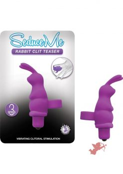 Seduce Me Rabbit Clit Teaser - Purple