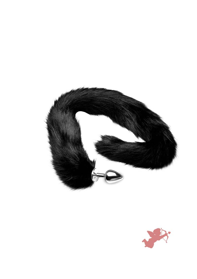 Tailz Mink Tail - Black