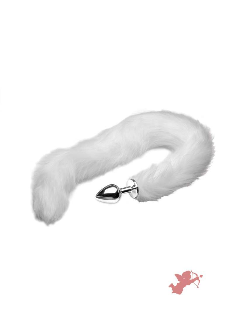 Tailz Mink Tail - White
