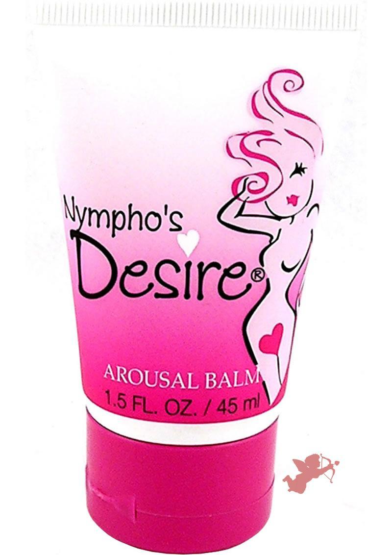 Nymphos Desire Arousal Balm 1.5oz