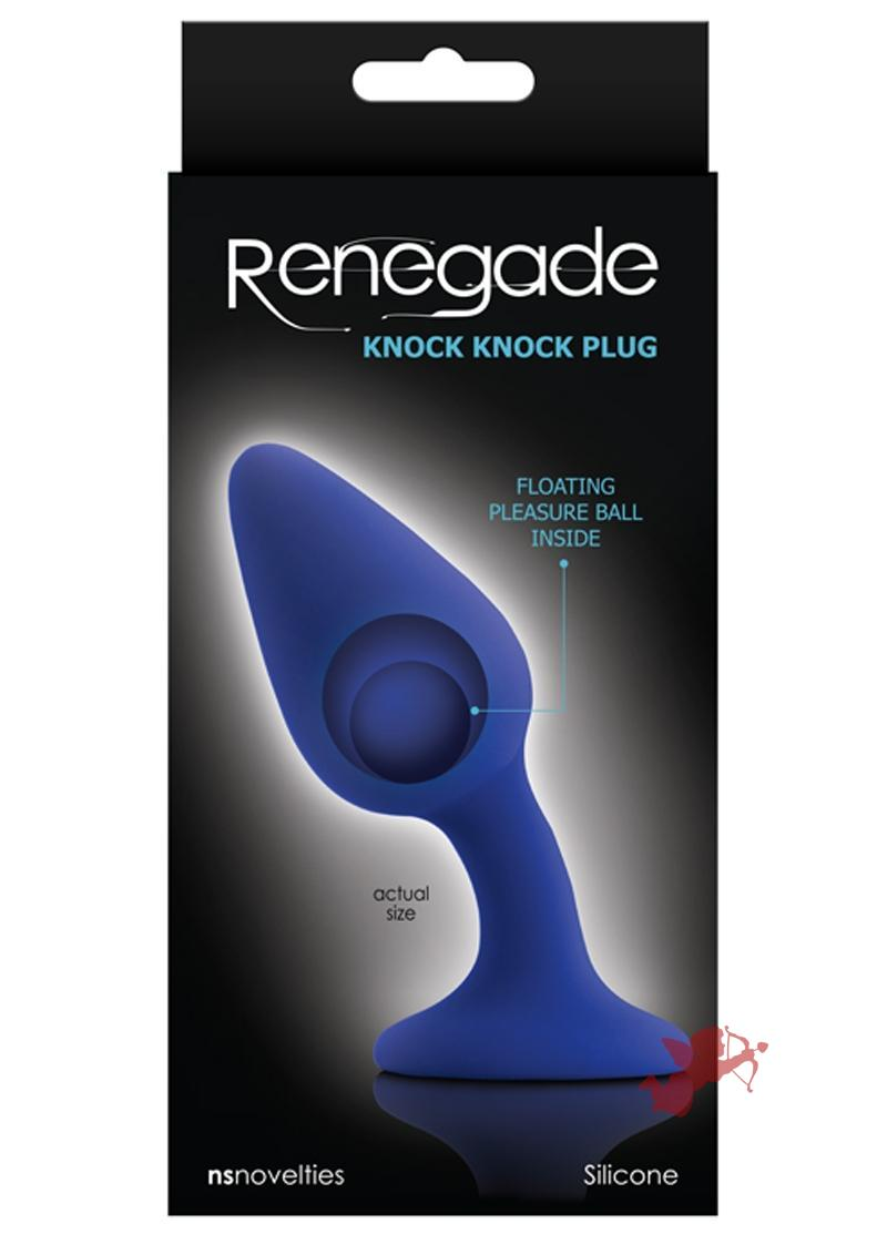 Renegade Knock Knock Plug Blue