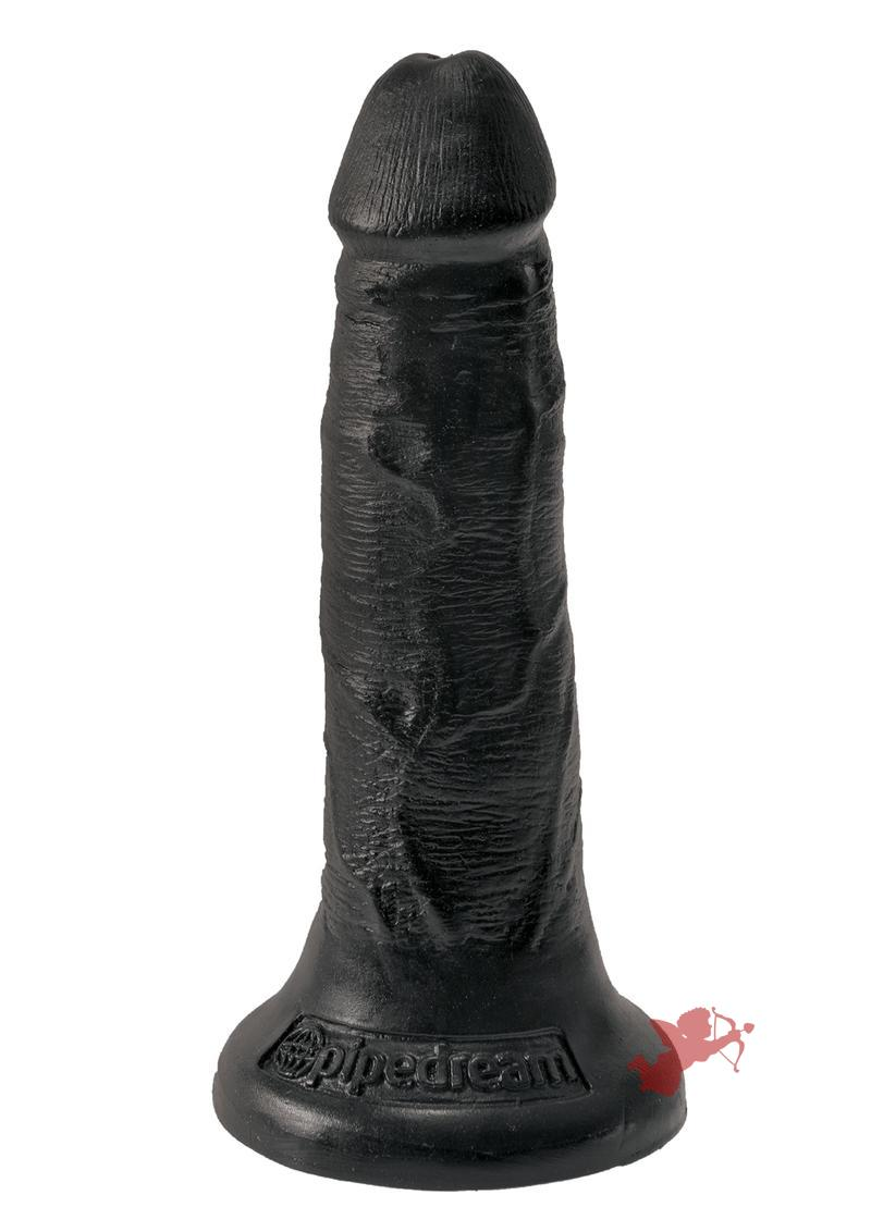 King Cock Realistic Dildo Black 5 Inch