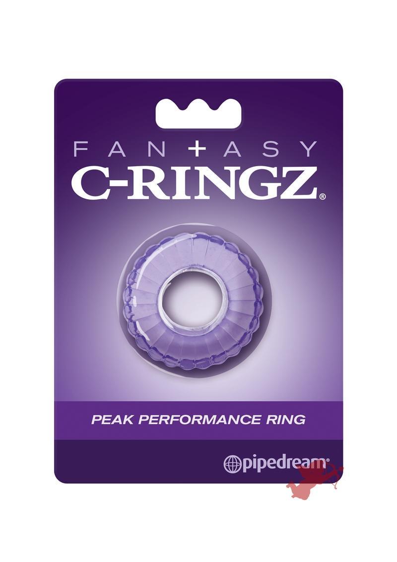Fantasy C Ringz Peak Thick Performance Ring Purple 1.58 Inch Diameter