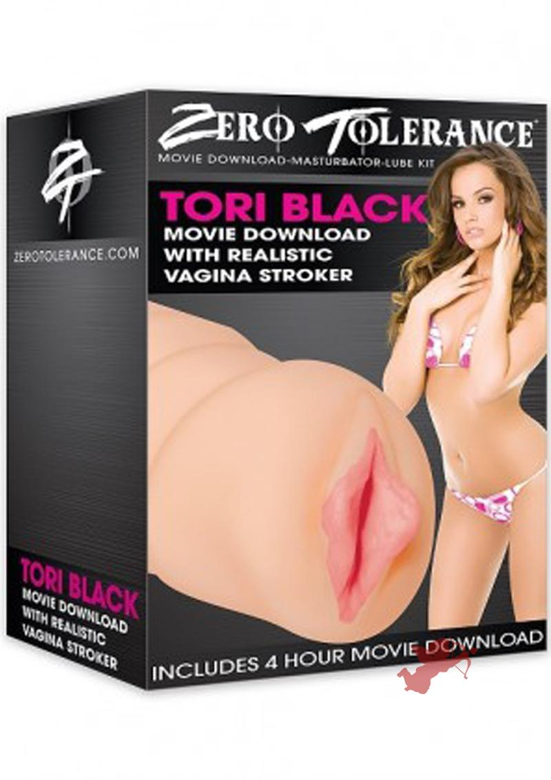 Tori Black Realistic Textured Vagina Stroker Flesh With Movie Download And Lube