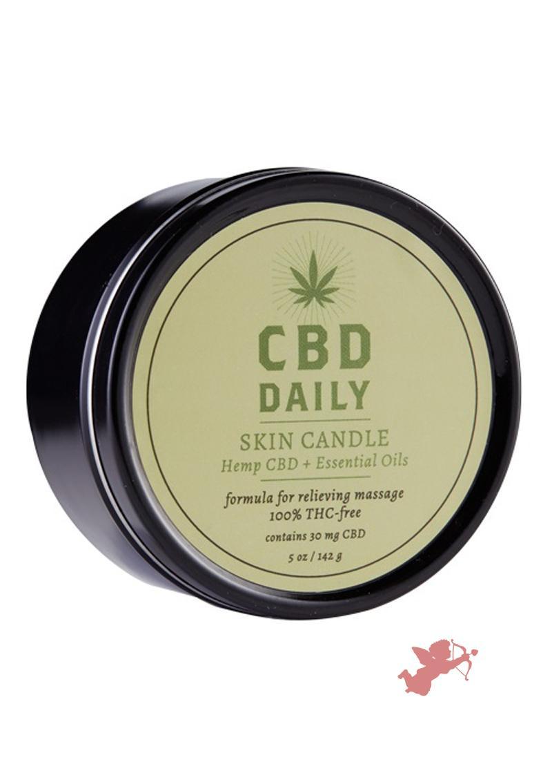 CBD Daily Skin Candle 5.3 oz.