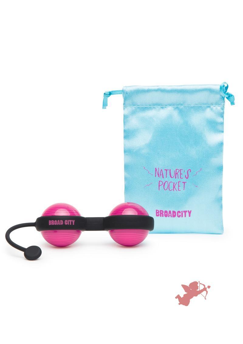 Broad City Nature's Pocket Kegel Balls Hot Pink
