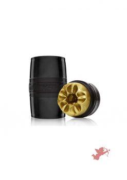 Fleshlight Quickshot Boost Dual End Stroker Gold 4.4 Inch