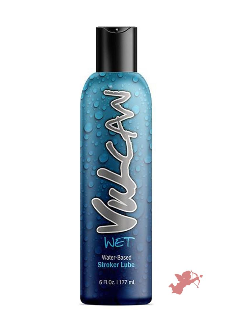 Vulcan Wet Water Based Stroker Lube 6oz