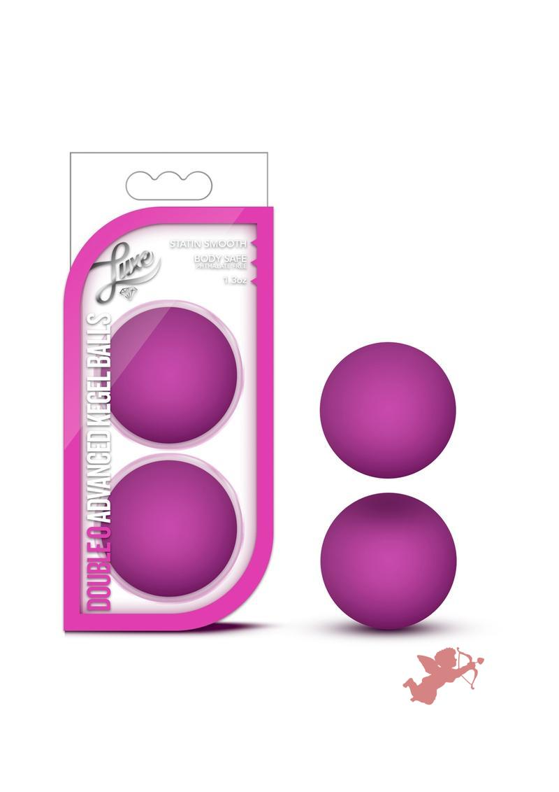 Luxe Double O Kegel Balls Pink Weighted 1.3 Ounce