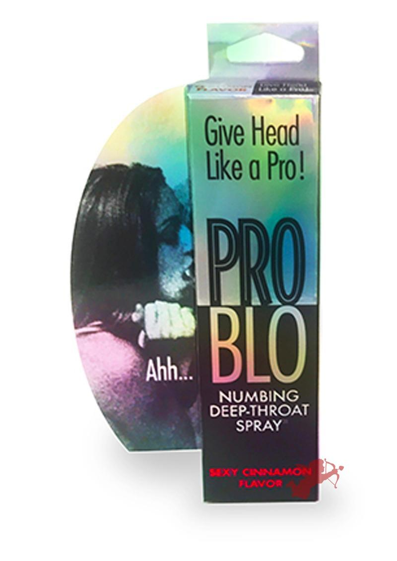 Pro Blo Numbing Deep Throat Spray Sexy Cinnamon Flavor