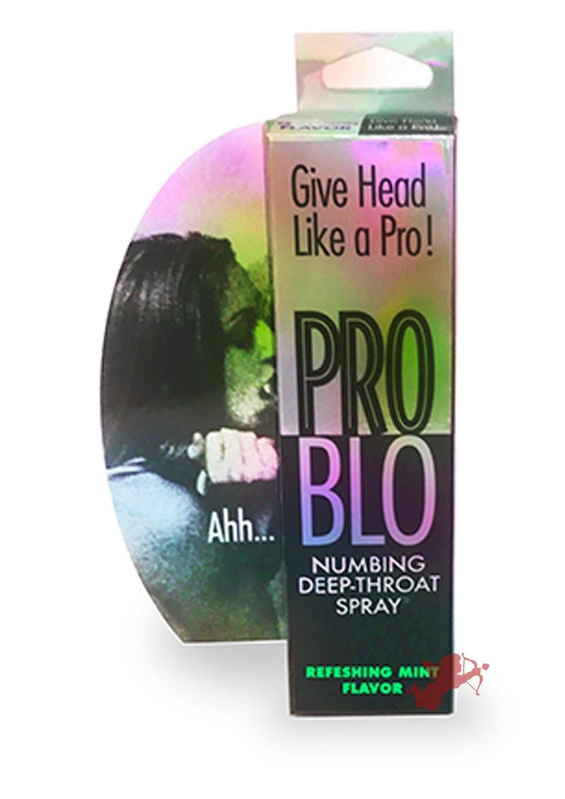 Pro Blo Numbing Deep Throat Spray Refreshing Mint Flavor