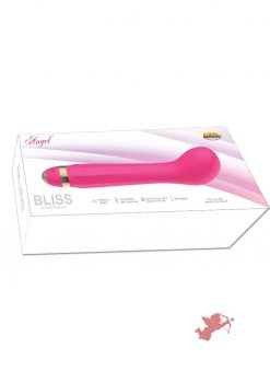 Bliss Angel Silicone Vibrator Waterproof Magenta
