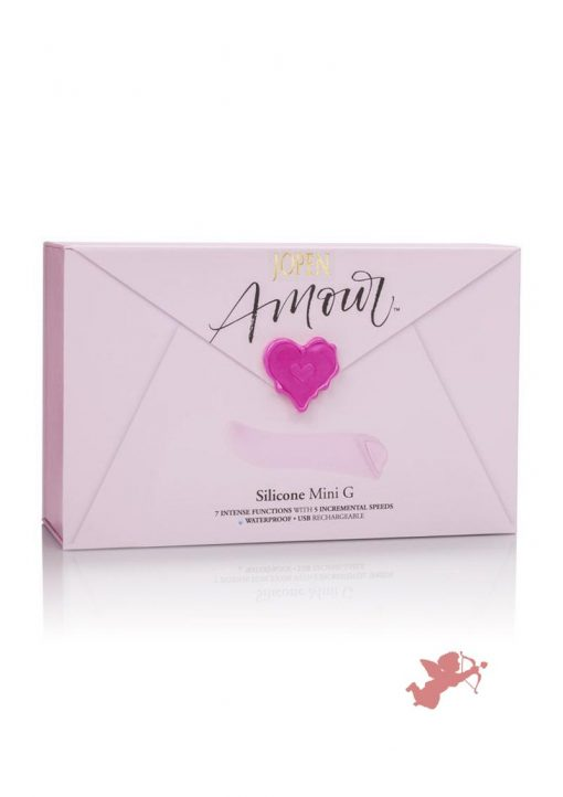 Jopen Amour Silicone Mini G Waterproof Pink