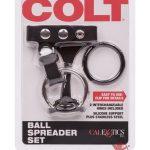 Colt Ball Spreader Set Adjustable Fastener Snap With Stainless Steel Cockring