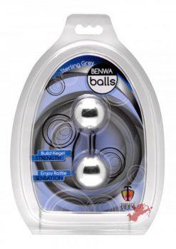 Trinity Vibes Sterling Grey Duo Tone Benwa Balls Waterproof 1.3 Inch Diameter