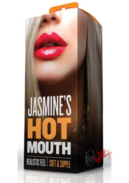 X5 Men Jasmine's Hot Mouth  Realistic Stroker Flesh 5 Inch