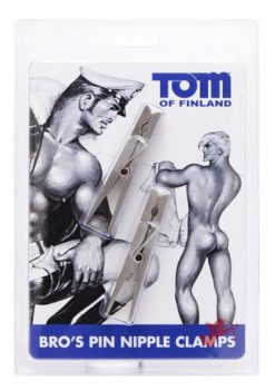 Tom of Finland Bros Pin Nipple Clamps