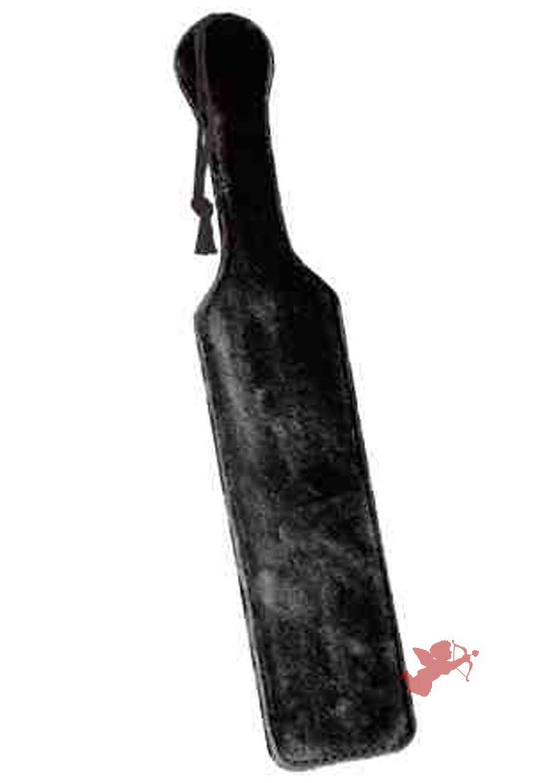 Fur Paddle - Black