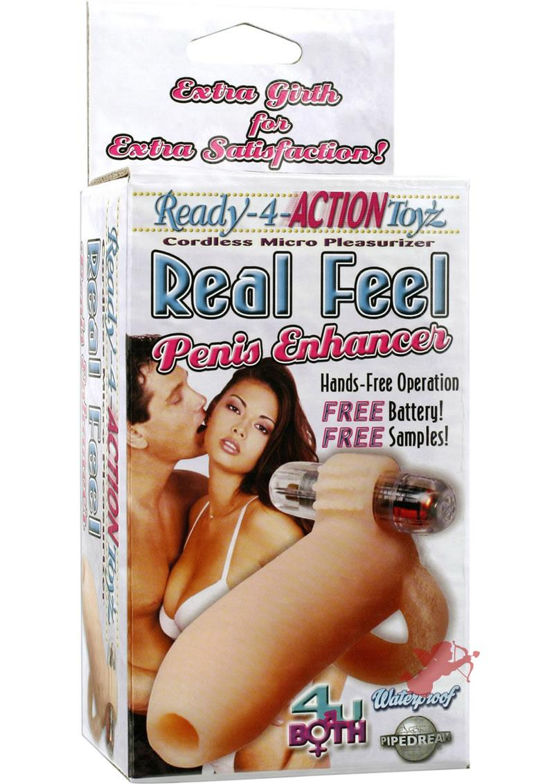 Ready For Action Real Feel Penis Enhancer