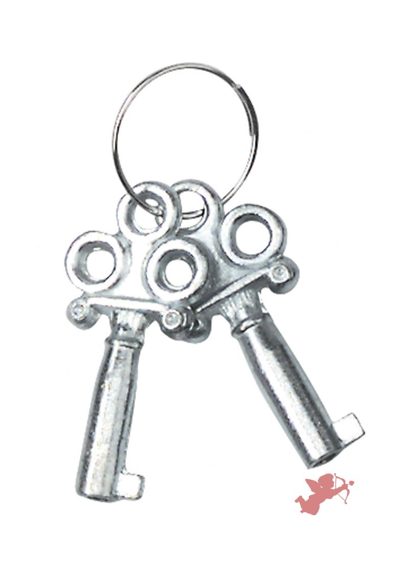 Nickel Coated Handcuffs - Sngl Lock