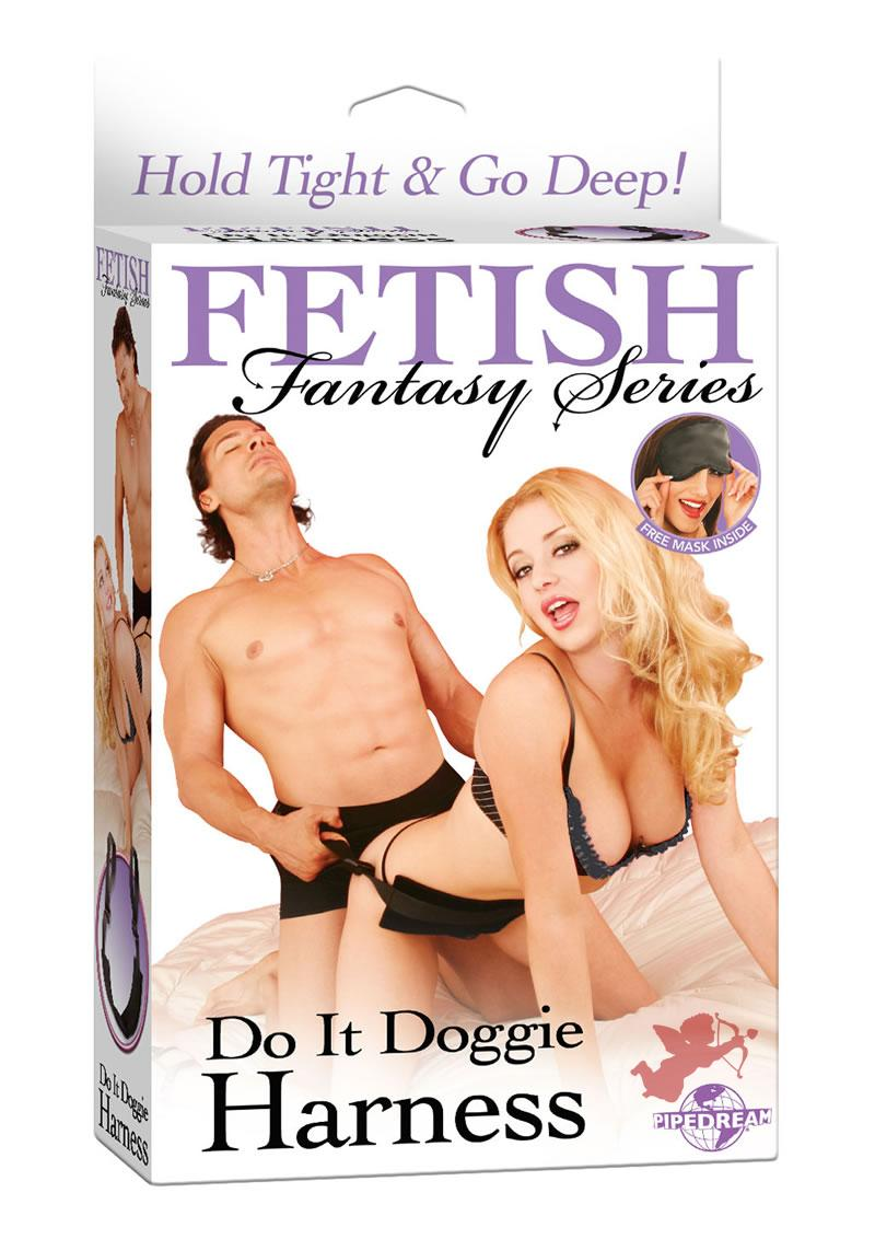 Fetish Fantasy Do It Doggie Harness