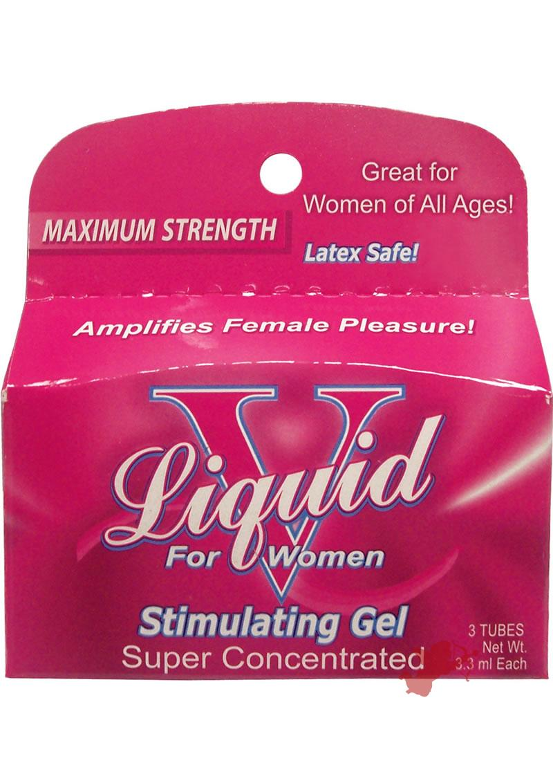 Liquid V For Women - 3pk Tubes