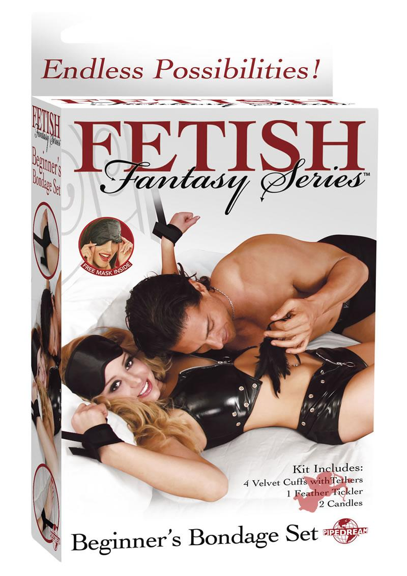 Fetish Fantasy Beginner`s Bondage Set Black