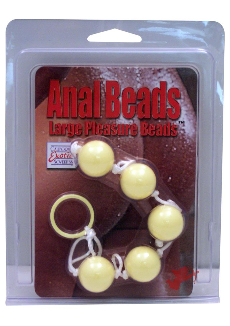 Anal Beads Colors Large