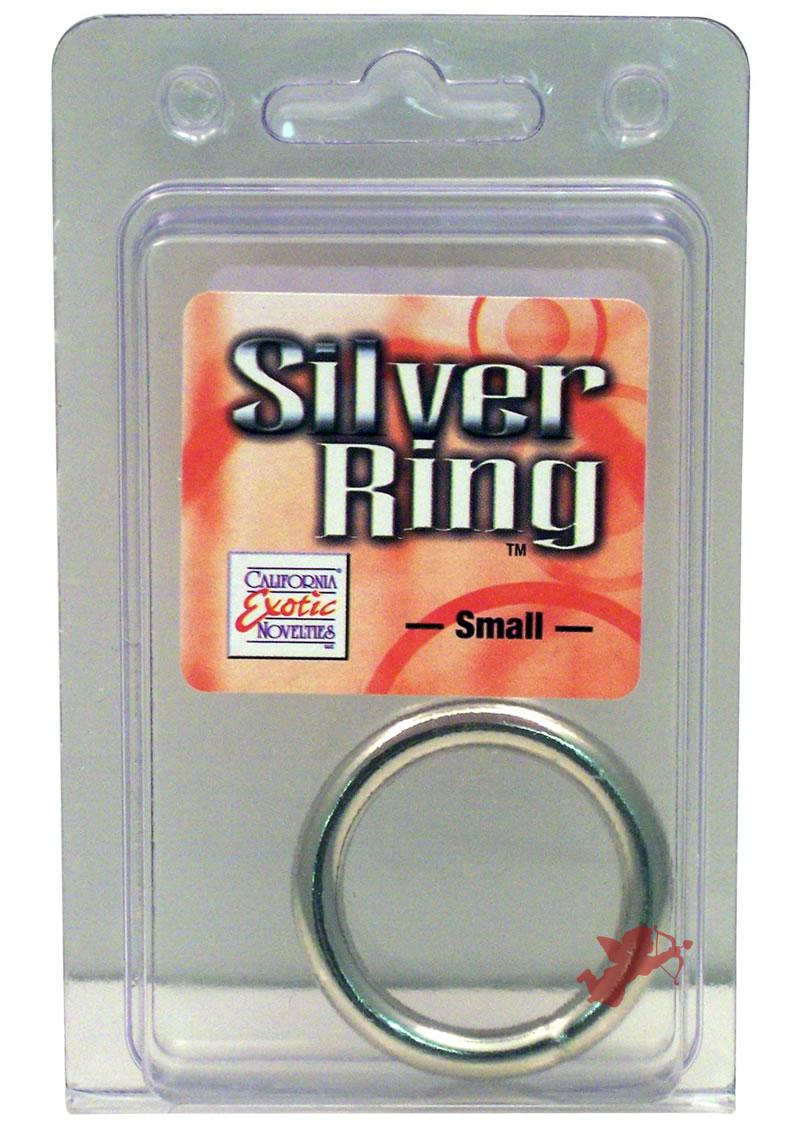 Silver Cock Ring Small