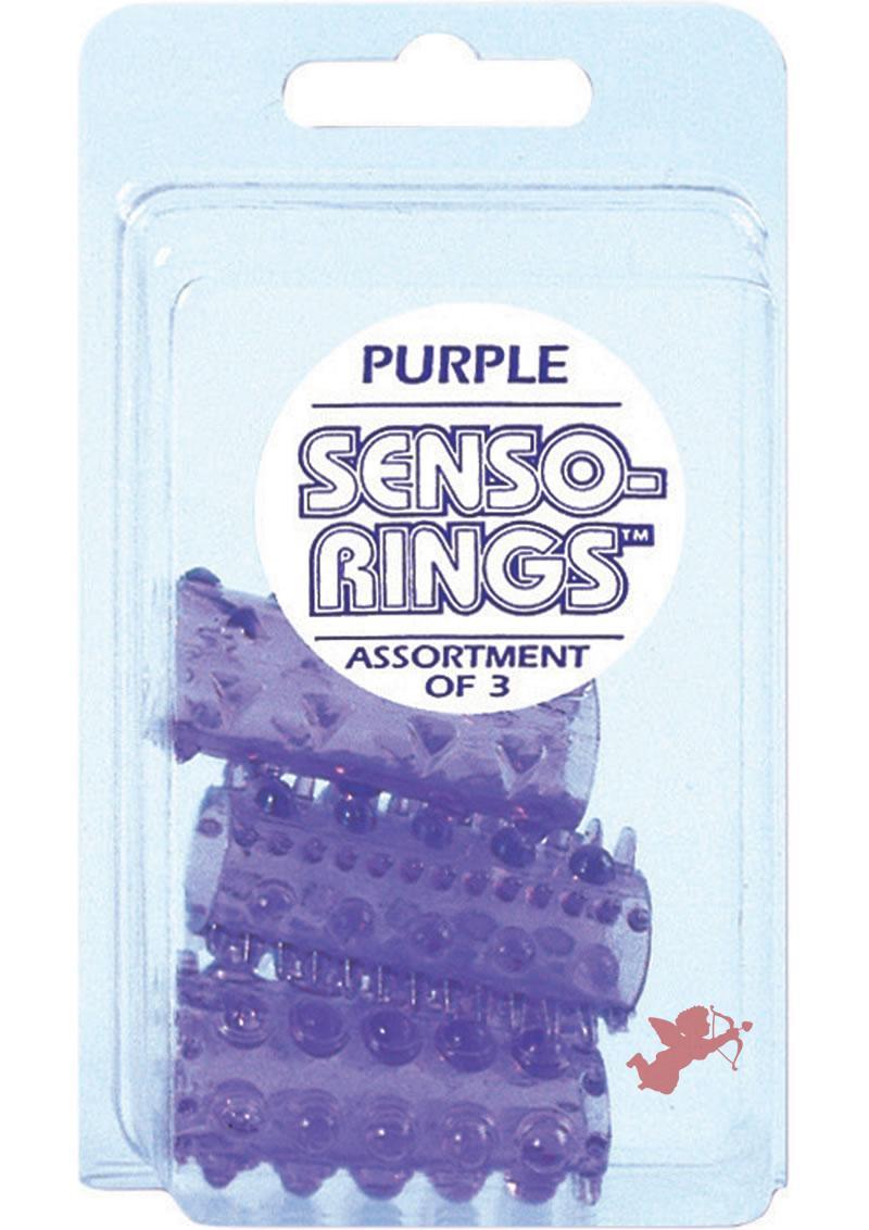 Senso Rings Purple 3-pack